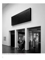 Mandi III, 2003, schwarze Anzeigetafel aus ... - 4. Berlin Biennale