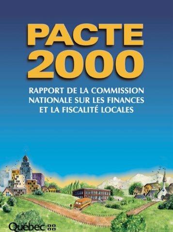 pacte 2000 - UQAC