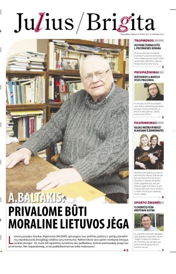 Julius/Brigita - Respublika.lt