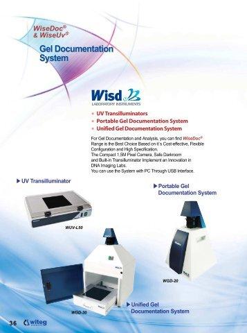 Gel Documentation System Gel Documentation System - Witeg
