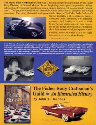PDF file - The Fisher Body Craftsman's Guild