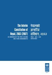 The Interim Constitution of Nepal, 2063 (2007) g]kfnsf] cGtl/d ;+l jwfg ...