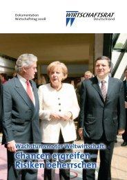 Podium I - Wirtschaftsrat der CDU e.V.