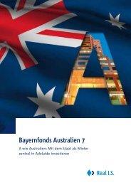 Bayernfonds Australien 7 - AVL Finanzdienstleistung Investmentfonds