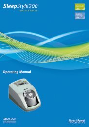 Operating Manual - Sleep Restfully, Inc.