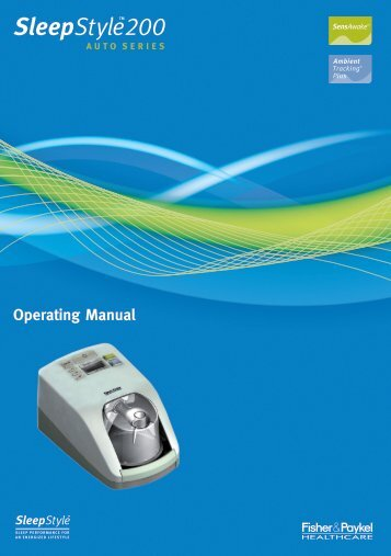 Operating Manual - Sleep Restfully, Inc.