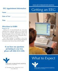 What to Expect Getting an EEG - Our Lady of Bellefonte Hospital