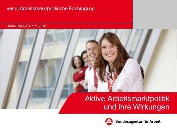 Vortrag Beate Kostka (pdf-Datei) - Netzwerk Weiterbildung