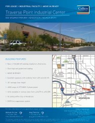 Traverse Point Industrial Center - Property Line