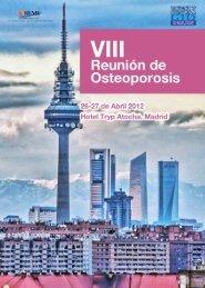 VIII Reunión de Osteoporosis - Sociedad Española de Medicina ...