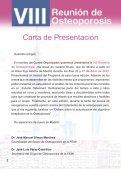 VIII Reunión de Osteoporosis - Sociedad Española de Medicina ... - Page 2