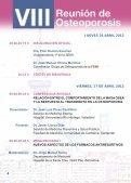 VIII Reunión de Osteoporosis - Sociedad Española de Medicina ... - Page 4