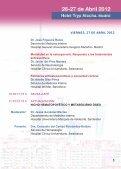 VIII Reunión de Osteoporosis - Sociedad Española de Medicina ... - Page 5