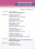 VIII Reunión de Osteoporosis - Sociedad Española de Medicina ... - Page 7