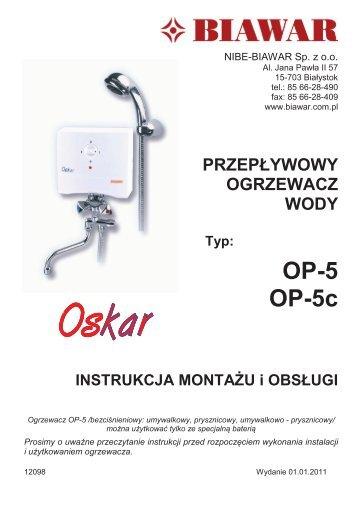 OP-5 OP-5c - Hydraulika