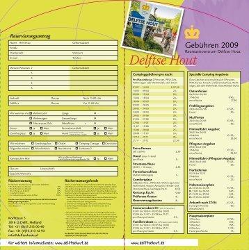 25% - Vakantiepark Delftse Hout