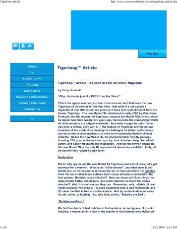 Tigerloop Article.pdf - HVAC.Amickracing
