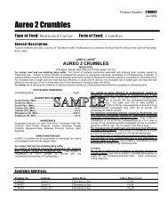 Aureo 2 Crumbles - Beeflinks