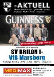 5. Ausgabe vom 04.11.2012 (PDF 6,80MB - SV 20 Brilon