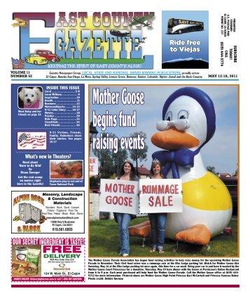 May 12 - East County Gazette