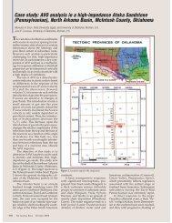 Case study: AVO analysis in a high-impedance Atoka Sandstone ...