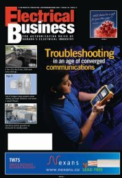 Page 27 Page 32 Page 17 - Electrical Business Magazine