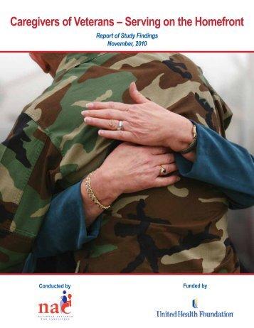 Caregivers of Veterans - National Alliance for Caregiving