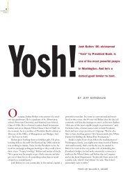 "Josh Bolten '80, nicknamed ""Yosh"" by President ... - Stanford Lawyer"