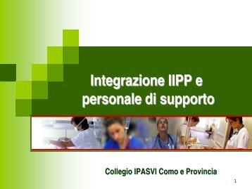 Integrazione IIPP e personale di supporto - Ipasvi