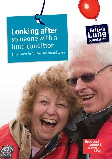 Looking after - British Lung Foundation