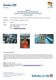2013 NSW Pool Rescue Championships - Surf Life Saving NSW