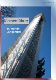 Kirchenführer - katholische Kirchgemeinde Langenthal