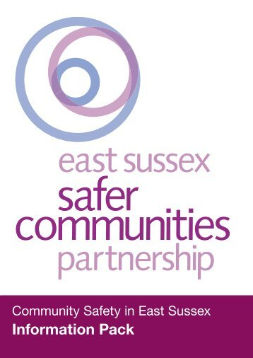 Information Pack - Safe in East Sussex