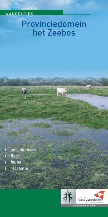 Provinciedomein het Zeebos - Provincie West-Vlaanderen