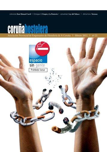 Revista Febrero 2011 Nº 21 - Asociación de Hostelería de A Coruña