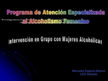 intervención en grupo con mujeres alcohólicas
