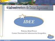 IDEE - Gbif.es