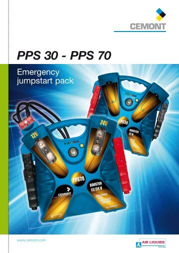 Emergency jumpstart pack PPS 30 - PPS 70 - Cemont