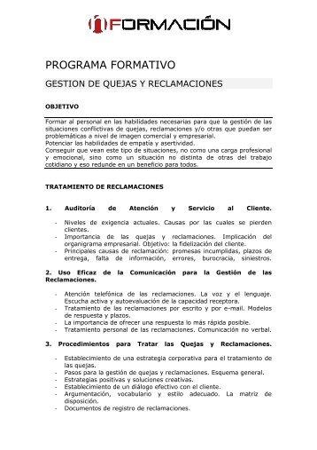 GESTION DE RECLAMACIONES