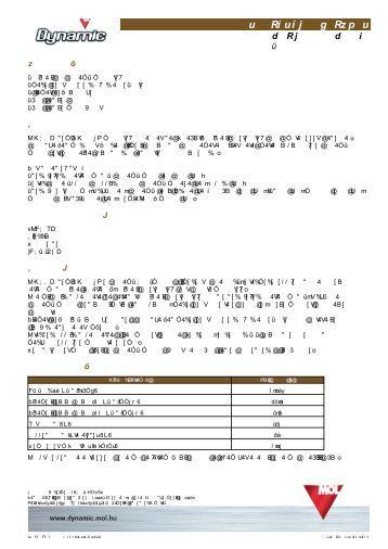 Terméklap - MOL Dynamic Moto 2T (pdf, 918 kB)