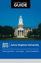 Guide - Parents Program | Johns Hopkins University