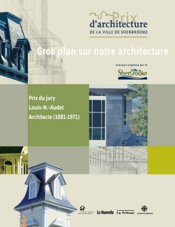 Prix du jury Louis-N.-Audet - Ville de Sherbrooke