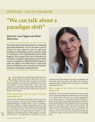 """We can talk about a paradigm shift"" - Leisa India"