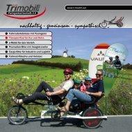 Das Trimobil als touristisches ErlebnisRad, für den e-bike-Verleih