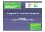 La diagnostica del Fattore Femminile