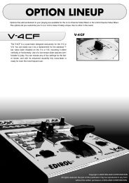 The V-4CF is a cross-fader designed exclusively for the V-4 or V-8 ...