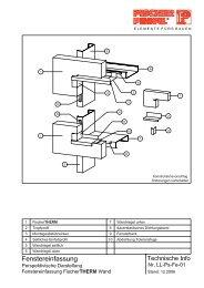 FischerTHERM LL 12.2006.pdf - Fischer Profil | Elemente fürs Bauen