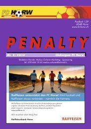 PENALTY - FC Horw