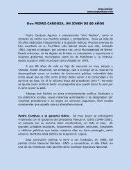 SEMBLANZA DE DON PEDRO CARDOZA AGUIRRE - jorge andujar
