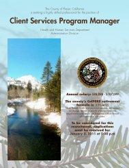 Client Services Program Manager - JobAps